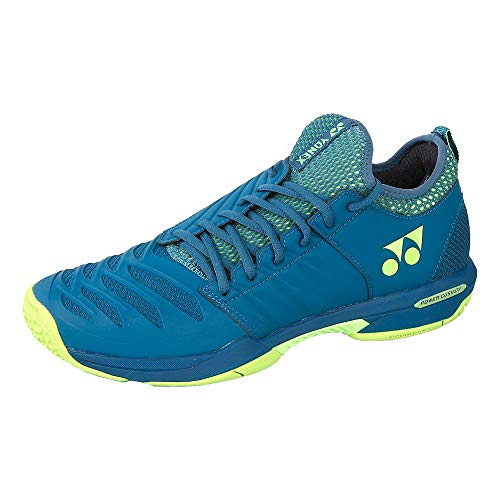 YONEX Power Cushion Fusion Rev 3 - Scarpe da Tennis da Uomo, Colore: Blu Navy, Uomo, Blu Navy, 10,5 UK