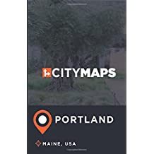 City Maps Portland Maine, USA