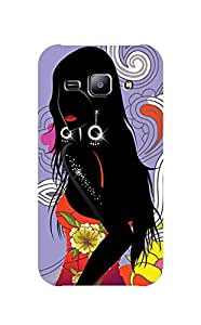 Zapcase Printed Back Case For Samsung Galaxy J2