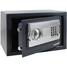HMF - Caja fuerte (cerradura electrnica, 310 x 200 x 200 mm)