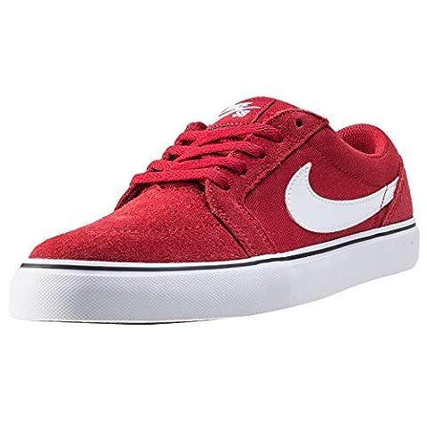 Nike Satire II (GS), Chaussures de Skate Garçon, Rouge /