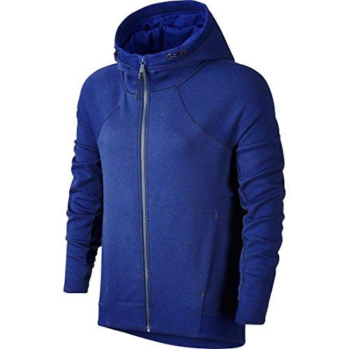 Nike Tech Fleece Fz Hoody Sweat avec Capuche Deep Royal Blue/Htr/Obsidian
