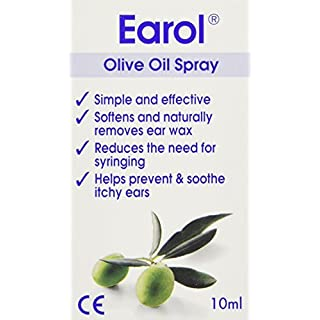 Earol Ear Wax Remover Olive Oil Spray 10 ml