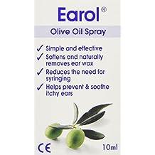 Earol - Limpiador en spray para oído - con aceite de oliva - 10 ml