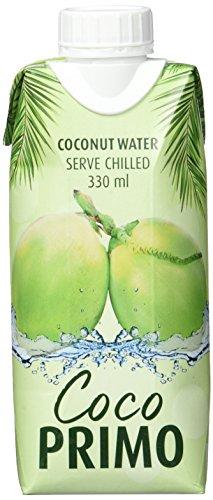 COCO PRIMO Kokosnusswasser 100 % Pur, 12er Pack (12 x 330 ml)