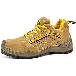 Zapatos de Seguridad con Puntera de Acero y suela antideslizante