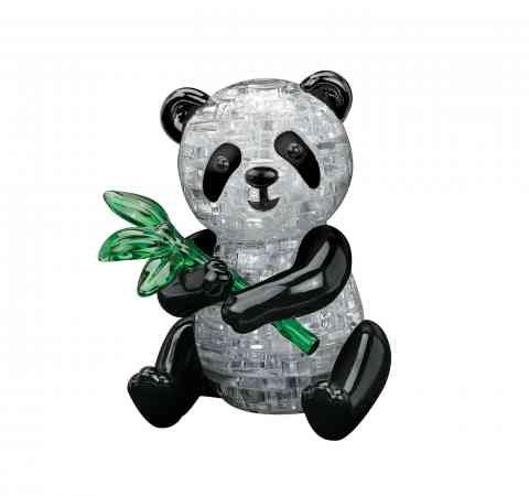 3d Kristall Puzzle Panda Blocks Kinder Spielzeug Transparent Montiert Kunststoff Ziegel Puzzle (3d-puzzles Für Kinder)