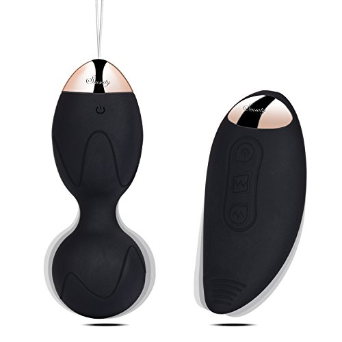 *Sensaty Bullet Vibratoren ei ,Klitoris Vibrator Vibro Ei, Vibrator mit Fernbedienung mit stoßfunktion wasserdicht leise ,Liebeskugeln mit Vibration Fernbedienung*