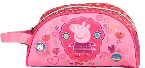 Peppa Pig-Estuche escolar multiusos, diseño de Peppa Pig