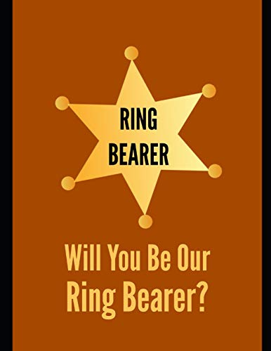 Ring Bearer: Ring Bearer Proposal Journal: 8.5x11 Inches, 120 Pages, Blank Sketchbook To Write, Draw, Doodle Or Paint In -