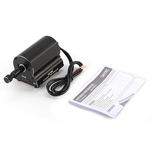 Rubber Tire Sander für 1/10 RC Auto, On Road Off Road Gummi Seam Remover Schleifmaschine mit 8 LED-Anzeigen