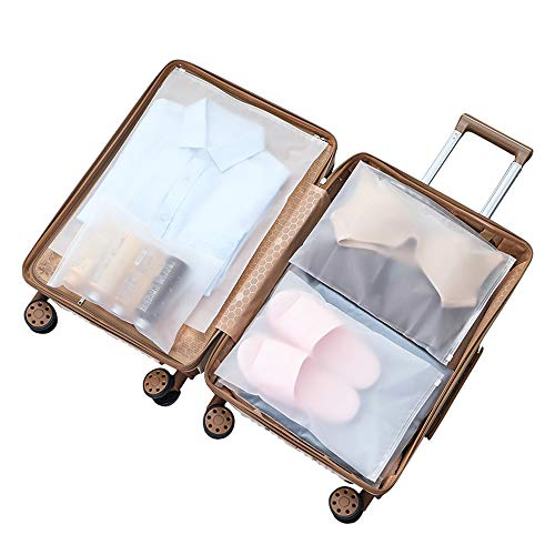 Vankra - 10 bolsas impermeables para ropa de viaje