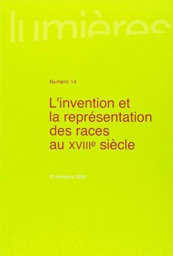 Lumières, N° 14, 2e semestre 2 : L'invention et la représentation des races au XVIIIe siècle