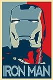 Iron Man 3 (24x36 inch / 60x90 cm) Silk Print Poster Seide Plakat - Silk Printing - DDA949