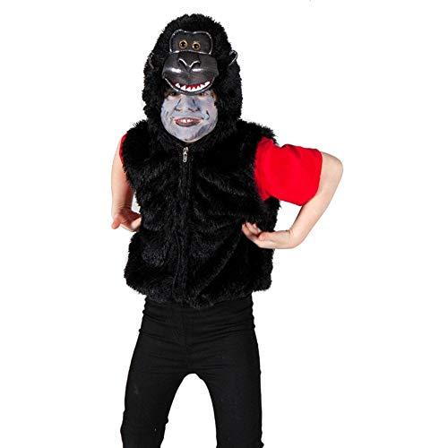 Gorilla Zip Top - Kids Costume (Wild Gorilla Kostüme)