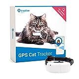 Tractive Tractive GPS-halsband voor katten met activiteitstracking - Lichte en waterdichte peilzender met realtime GPS-detectie