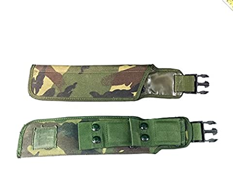 BRITISH ARMY SURPLUS IRR DPM FROG PLCE WEBBING POUCH,SCABBARD,SHEATH