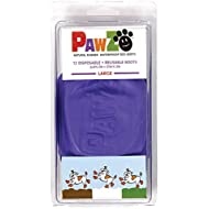 Large Pawz Durable All Weather Dog Boots (12 boots)