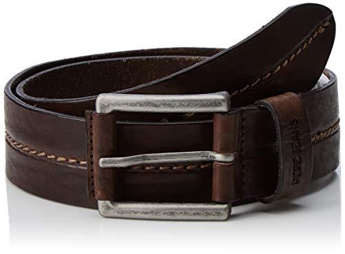 Pepe Jeans Herren Tangel Belt Gürtel, Braun (Brown 878), 80 (Herstellergröße: 95)