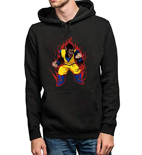 9e14a7965 Dragon Ball Goku Oozaru Monster Energy Fight_R5265 Hoodie Capucha Sweater  Pullover Sweatshirt Unisex Black Gift-