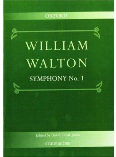 Symphony No. 1: Study Score (William Walton Edition)