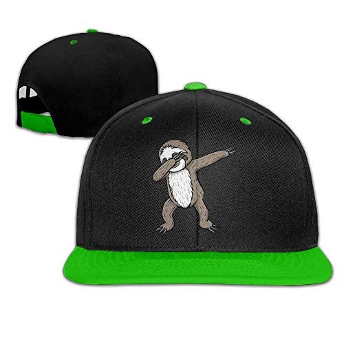 Jxrodekz Unisex Fashion Sloth Dabbing Hip Hop Baseball Caps Snapback Hats 6238