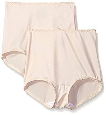 Hanes Shapewear Women's Light Control 2 Pack Shaping Brief