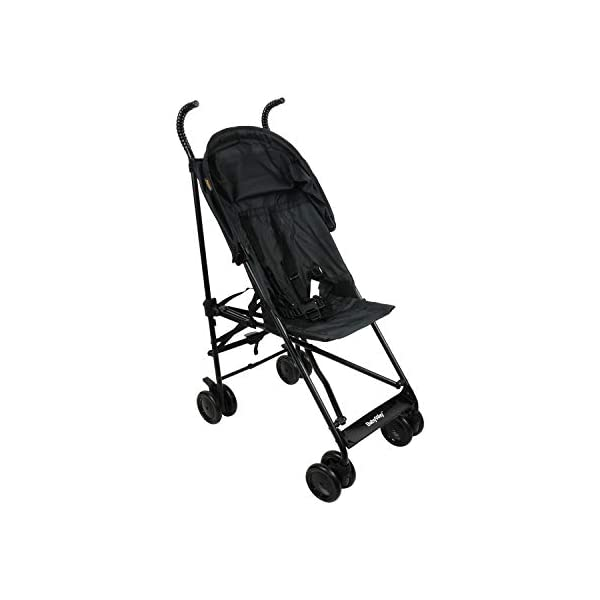 BABYWAY Stroller Buggy Pushchair - Easy Fold Babyway Suitable for children from 6 months to 36 months Swivel front wheels for ease of use and lockable rear wheels for increased safety Fitted with a five point safety harness for increased safety while you wheel your little one around 4
