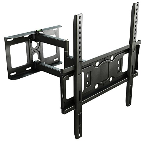 RICOO Soporte de pared para TV S5144 orientable e inclinable para televisores...