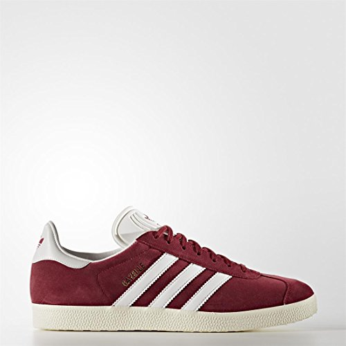 adidas Originals Gazelle, collegiate burgundy/white/gold metallic, 13