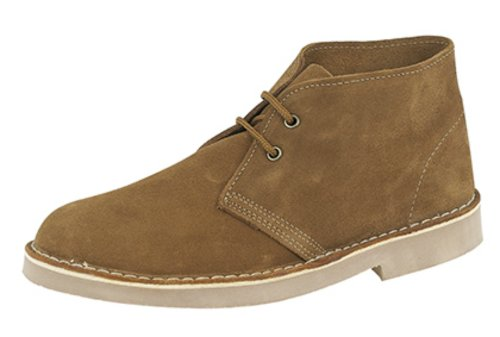 Roamers ,  Unisex - Erwachsene Desert Boots Sand