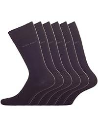 BOSS Hugo Boss Herren Socken ´Twopack RS Uni` 10112280 01, 6er Pack