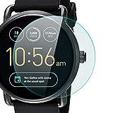 zanasta Bildschirmschutz Folie kompatibel mit Fossil Q Wander 2. Generation Bildschirmschutzfolie aus gehärtetem Glas   Panzerglasfolie Smartwatch Zubehör