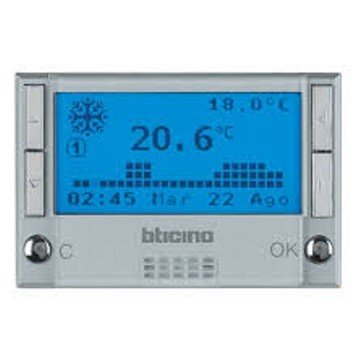 BTICINO MY HOME HC4695 - MH-CENTRAL 4 ZONAS AXOLUTE CL