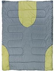 10T Harrison 2 Personen XXL Camping Schlafsack bis -13°C Outdoor Deckenschlafsack 200x150cm Hüttenschlafsack mit 2700g Doppelschlafsack für 3 / 4 Jahreszeiten Frühling Sommer Herbst