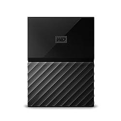 WD My Passport 2TB External Hard Drive (Black)
