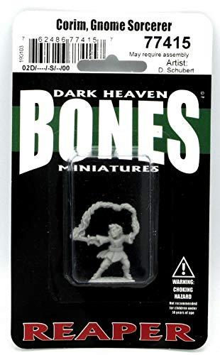 Unbekannt Reaper Miniatures: Dark Heaven Bones - Corim, GNOME Sorcerer