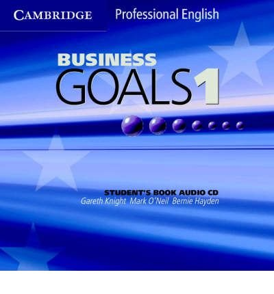 Business Goals 1 Audio CD (CD-Audio) - Common