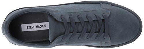 Steve Madden Mens Bionic Fashion Sneaker Navy Nubuck