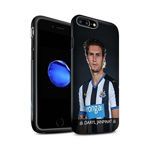 Officiel Newcastle United FC Coque / Matte Robuste Antichoc Etui pour Apple iPhone 7 Plus / Ayoze Design / NUFC Joueur Football 15/16 Collection Janmaat
