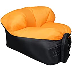 EooCoo Canapé Portable Gonflable, canapé extérieur pour Camping, Parc, Plage, Cour arrière, pêche, Natation