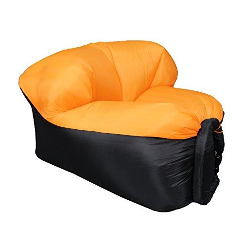 EooCoo Portable aufblasbare Sofa, Outdoor Air Sofa für Camping, Park, Strand, Hinterhof, Angeln,...