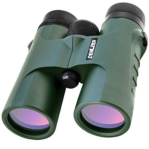 Fernglas 10x42 mit Stativadapter und Tragetasche. HD Militär Qualität BAK 4 Dachkant - Prismen und...