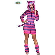 Disfraz de Gato Cheshire de Alicia para mujer