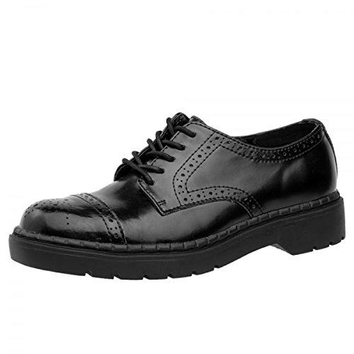 TUK Shoes - Stivali Unisex adulti , nero (Black), 37 EU