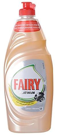 Fairy Dishwashing Liquid Platinum Lemon 625ml