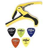 GigMind Metal Yellow Guitar Capo