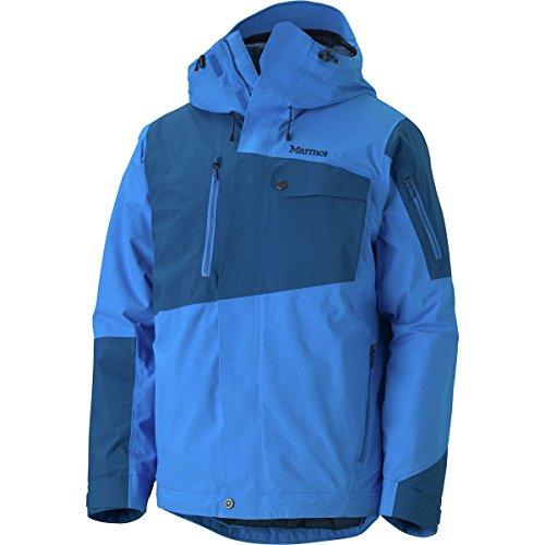 Herren Skijacke Tram Line Jacket blau/dunkelblau