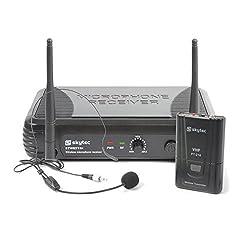 Skytec STWM711H Mikro Headset VHF-Technik Sender, Empfänger und Headset schwarz