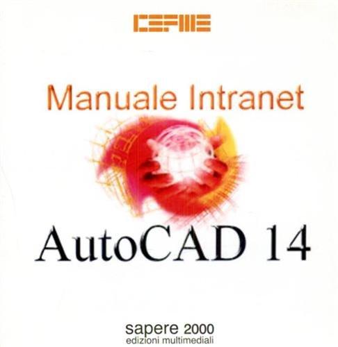 Manuale intranet Autocad 14. CD-ROM. par Formedil.